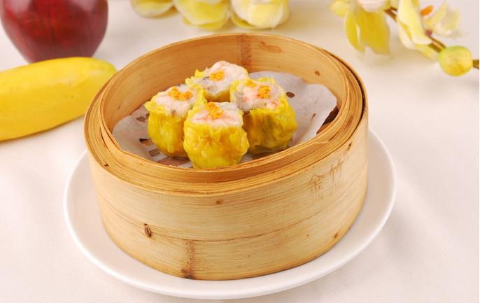 Cantonese Dim Sum--Pork Siu Mai