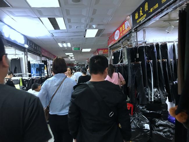 Inside Nancheng Clothes Market in Shahe, Guangzhou-1