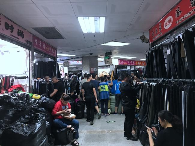 Inside Nancheng Clothes Market in Shahe, Guangzhou-2