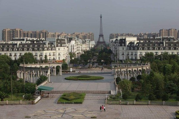 The Chinese Version of Eiffel Tower in Paris
