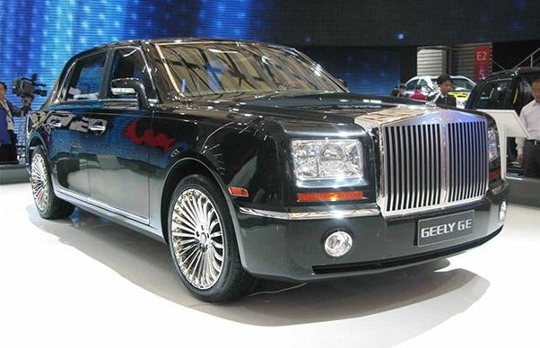The Chinese Version of Rolls Royce