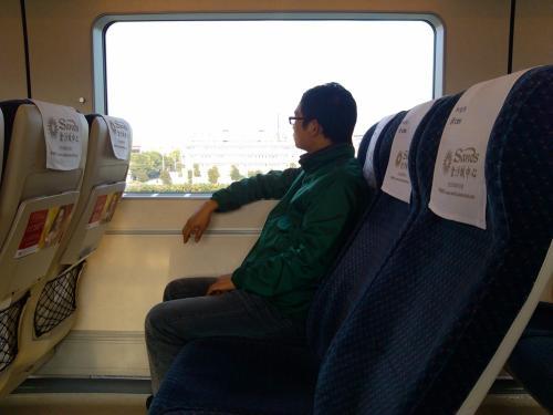 Travel from Guangzhou to Macau by Train