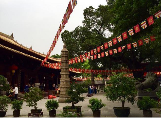 Guangxiao Temple in Guangzhou