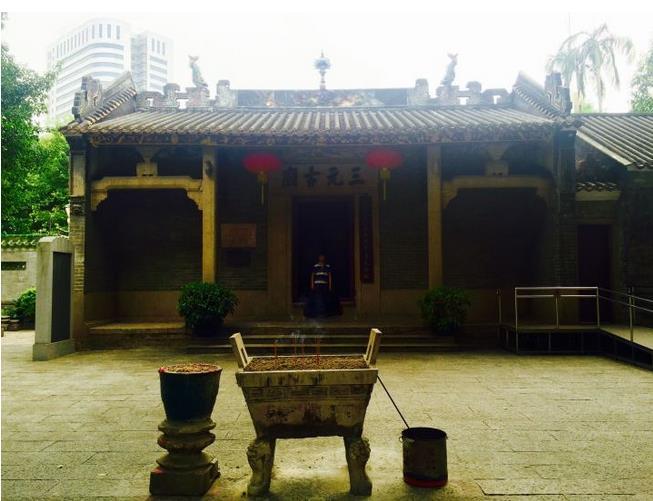 Sanyuanli Temple in Guangzhou