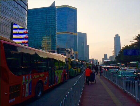 Tianhe CBD in Guangzhou