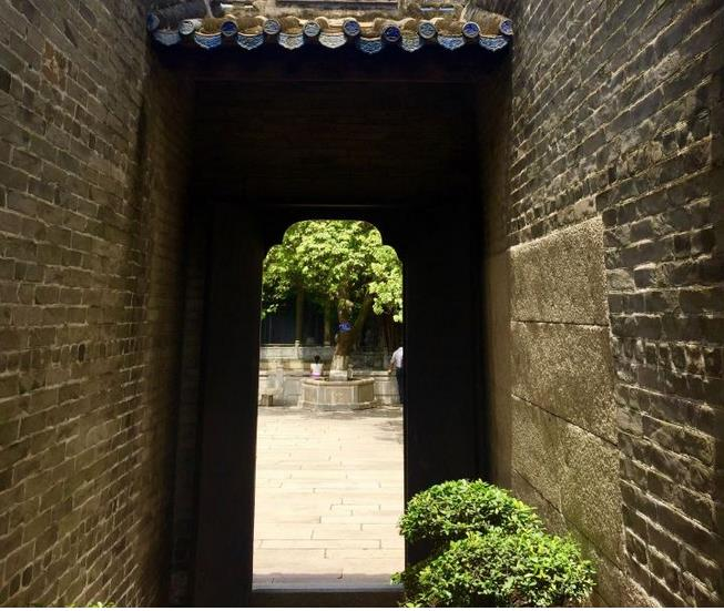 Yuyin Garden in Guangzhou