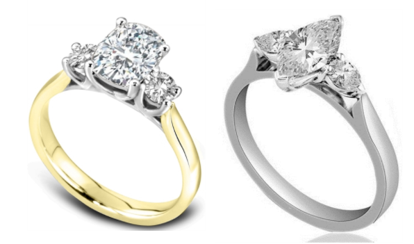 Jewellery trends 2018-Trilogy engagement rings