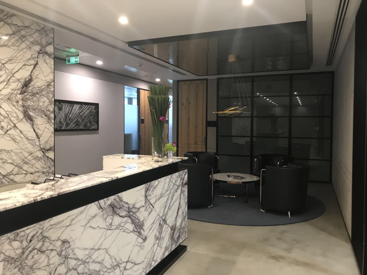 How are we helping an UAE client in building his luxury private