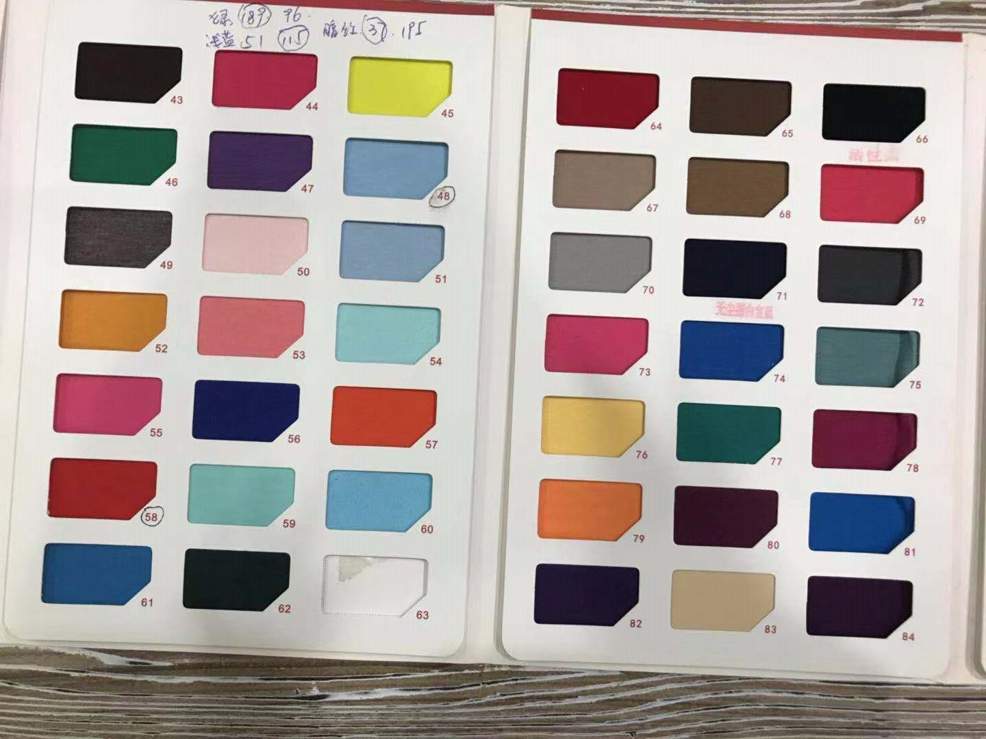 Color Card for T-shirts - Business in Guangzhou-2