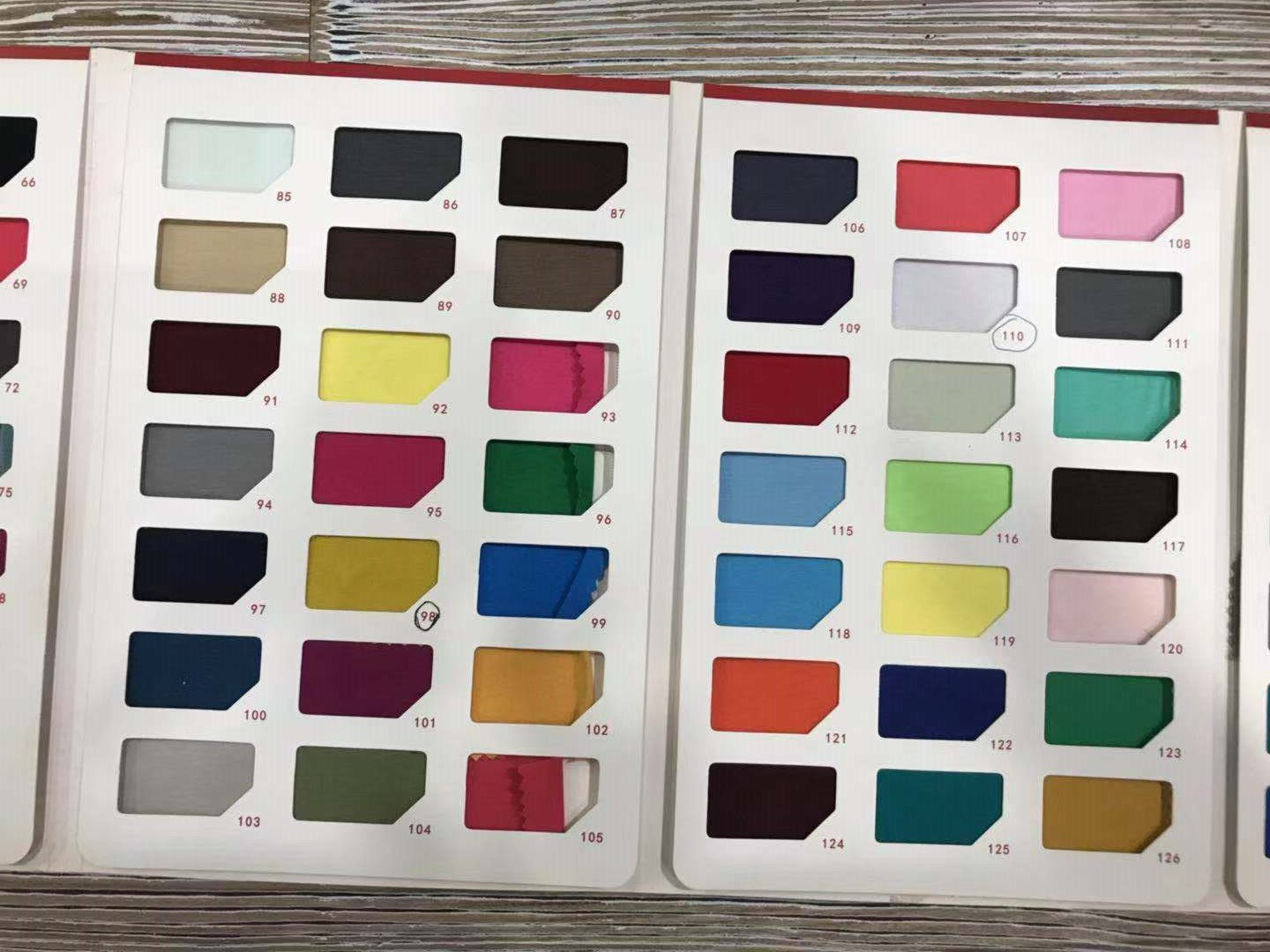 Color Card for T-shirts - Business in Guangzhou-3