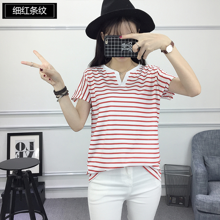 04 Two Tone Pinstripe Shirts for Women