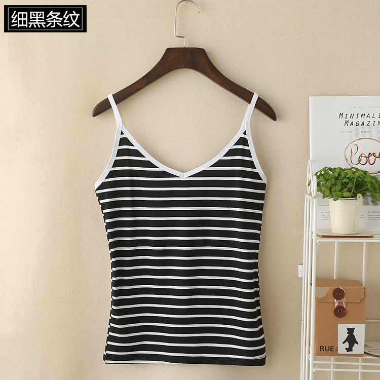 08 Wholesale Pinstripe Tank Tops for Girls
