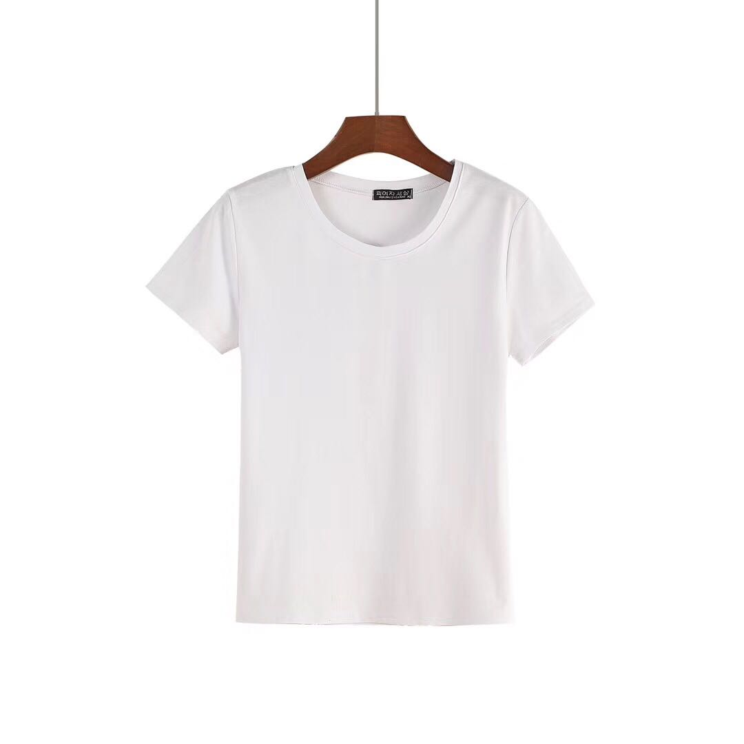 Blank O-neck Shirts for Women from China T-shirts Manufacturer-1