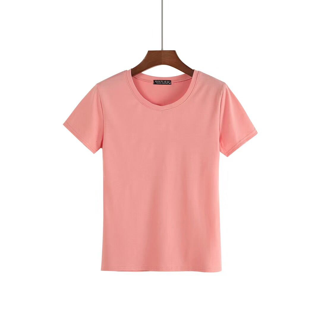 Blank O-neck Shirts for Women from China T-shirts Manufacturer-2