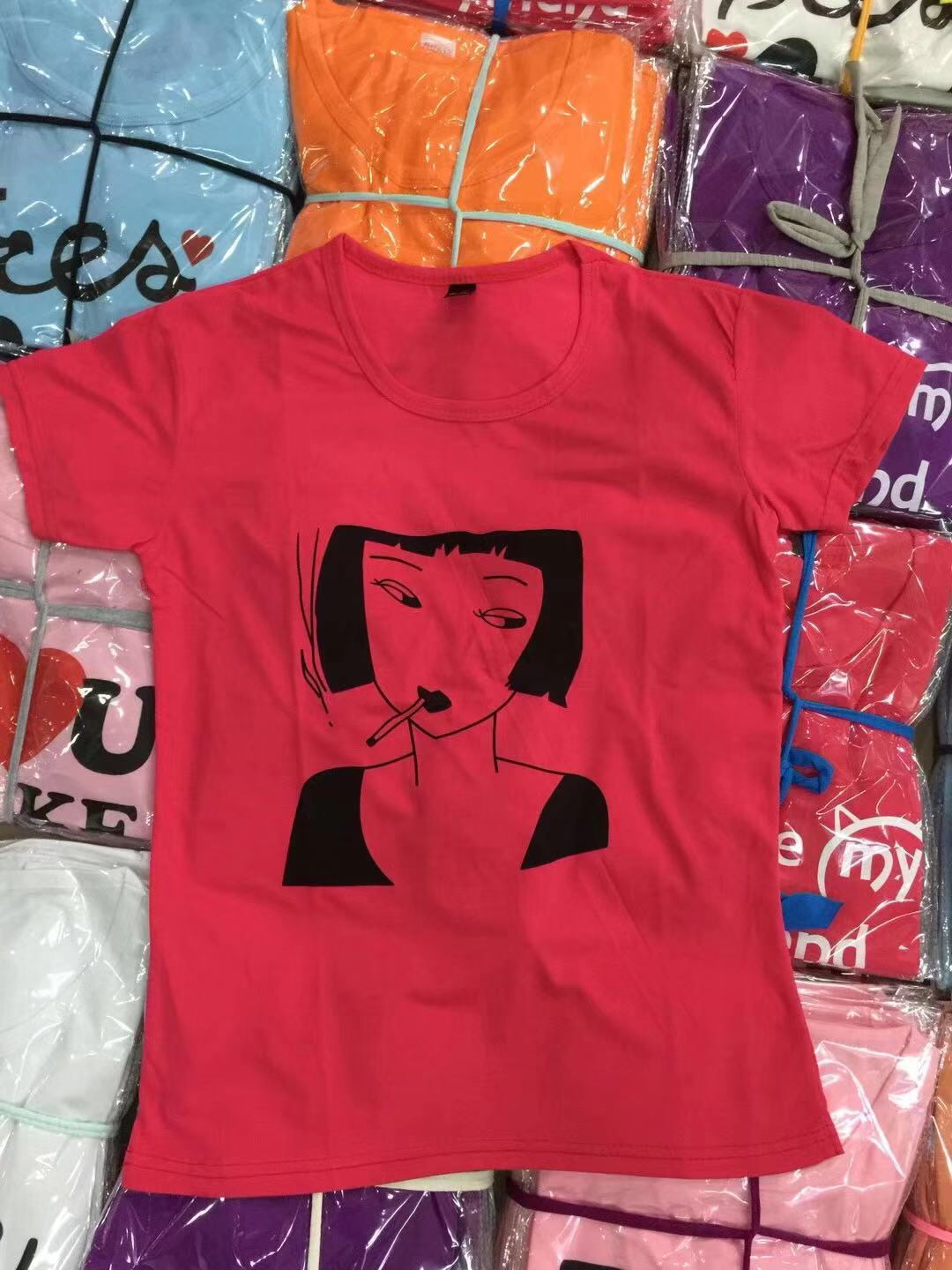 Custom Ladies T-shirts Printed with Logo at Wholesale Prices-2