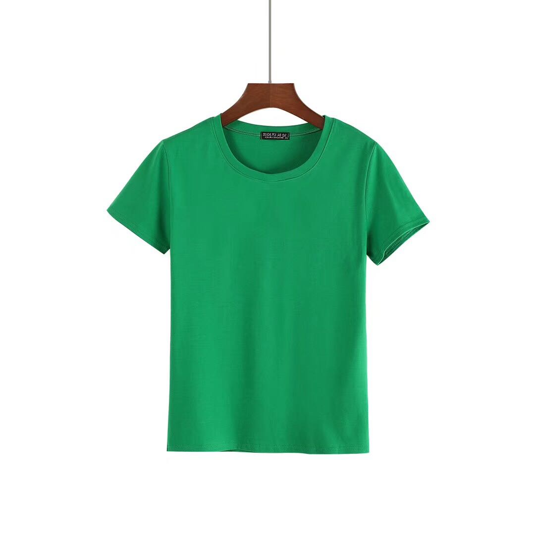 Ladies Blank O-Neck Shirts from China T-shirts Company-2