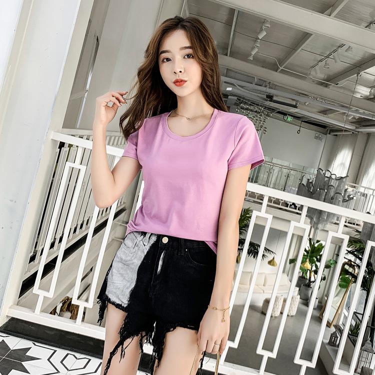 O-neck 10 China Custom Wholesale T-shirts for Girls