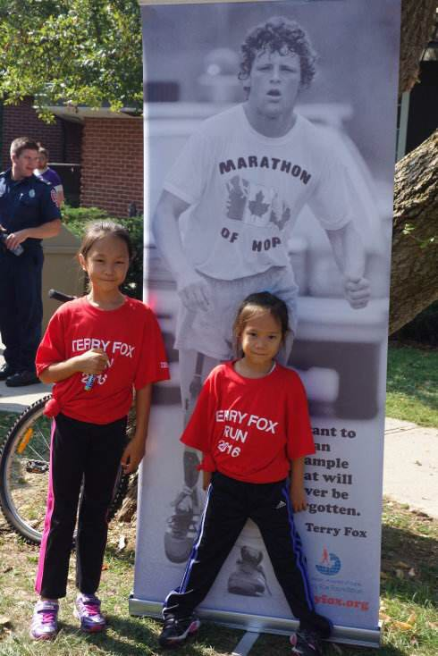 Terry Fox Run T-Shirts from China