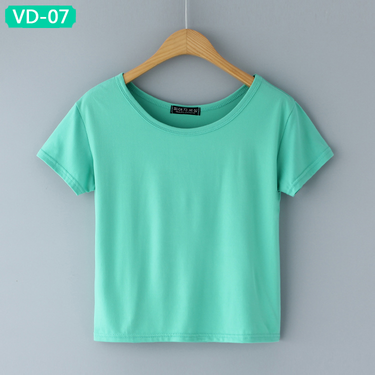 VD-07 Stylish Ladies Cropped Tops at Wholesale Prices