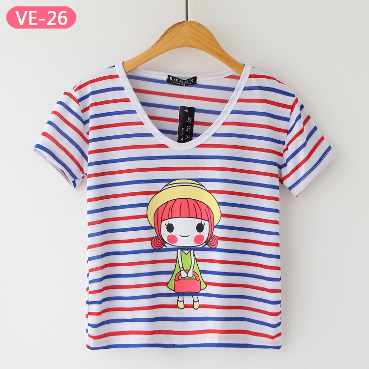 VE-26 China Crop Top Wholesale for Stylish Ladies