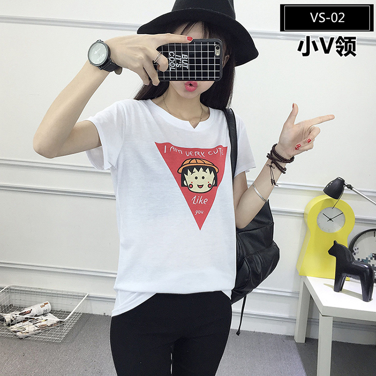 VS-02 Wholesale Custom Printed T-Shirts with Graphic Design