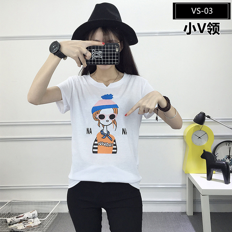 VS-03 Wholesale Graphic Tees for Girls