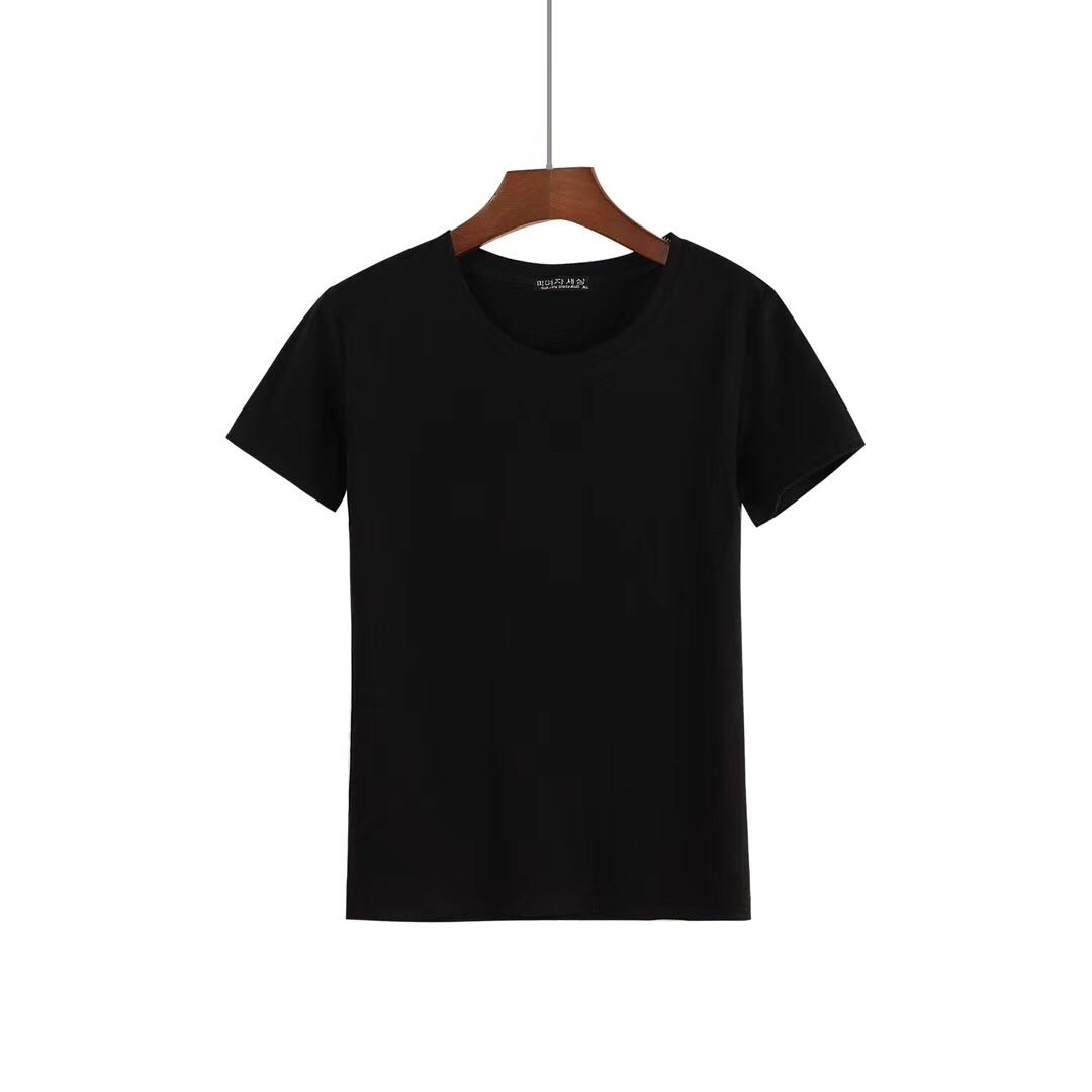 Wholesale Plain O-neck Shirts for Women from China-1