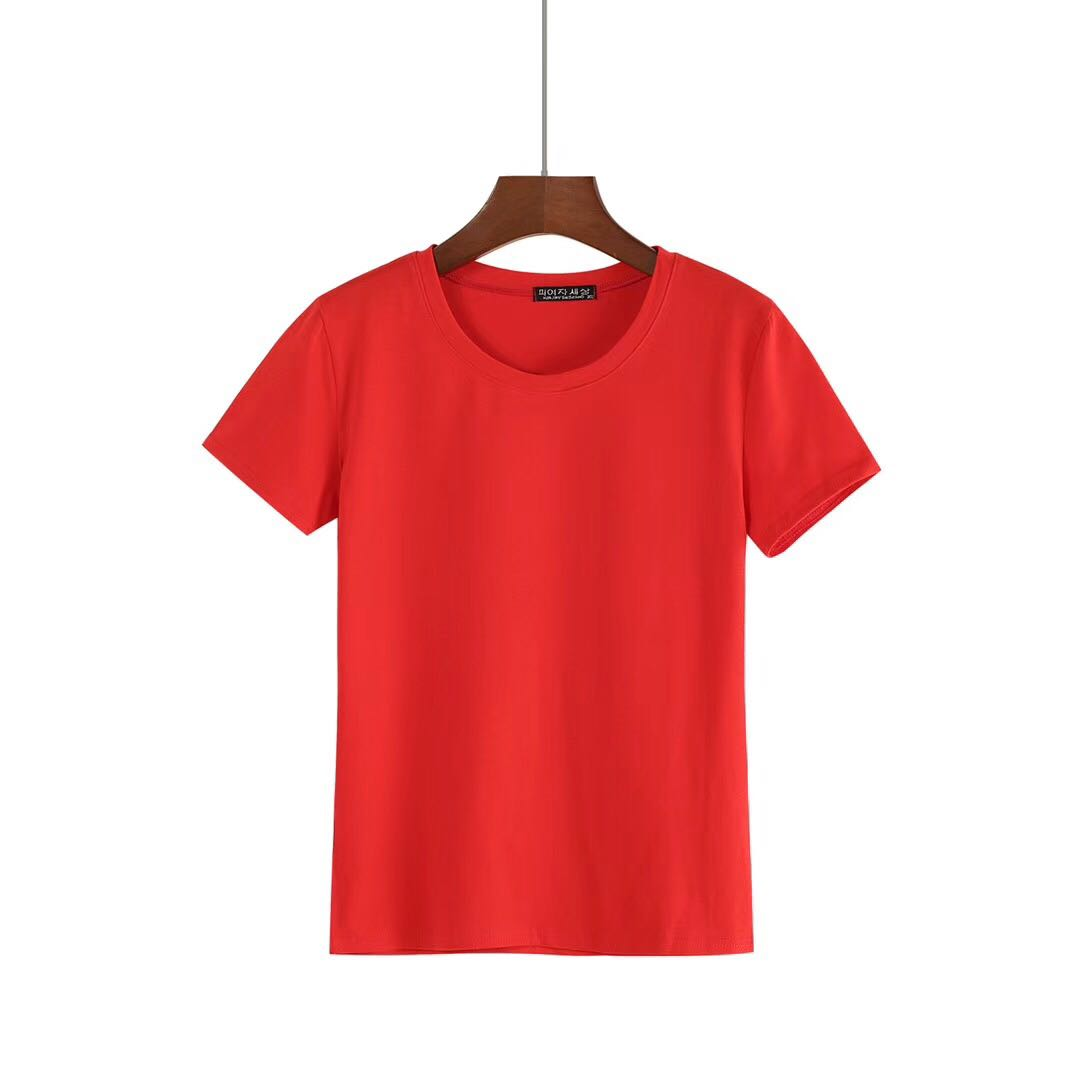 Wholesale Plain O-neck Shirts for Women from China-2