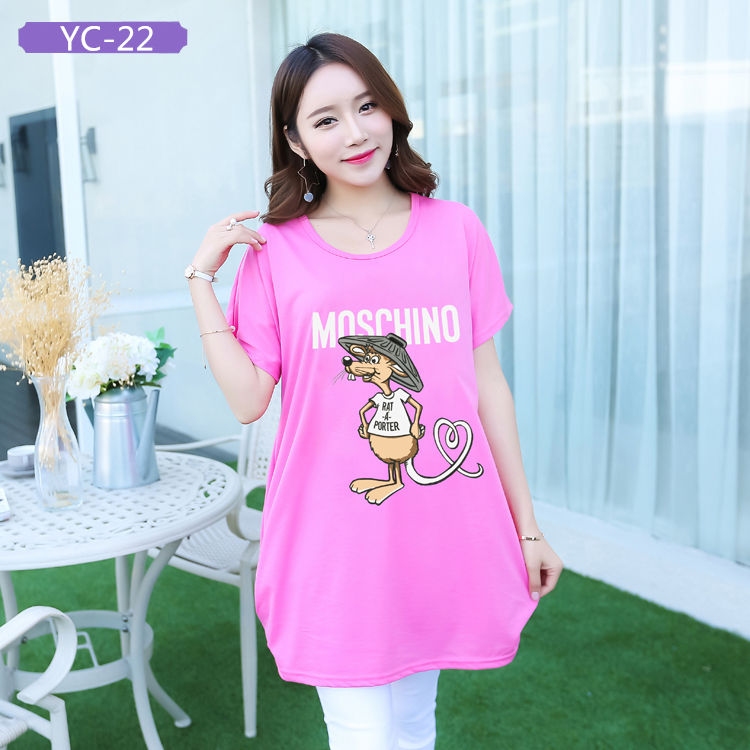 YC-22 China Wholesale Custom Printed T-shirts for Women