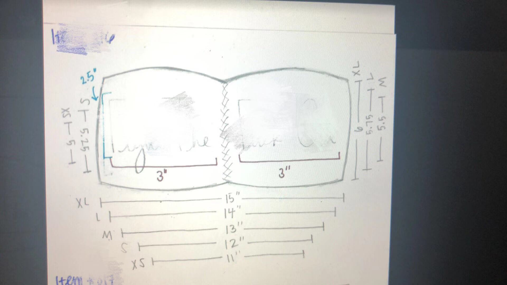 Sketches of Wholesale Custom Bandeau Tops from China